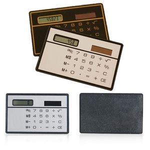 Solar Card Calculator