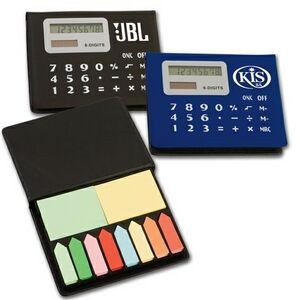 Calculator/Sticky Note Pad