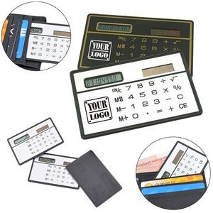 Solar Power Pocket Calculator