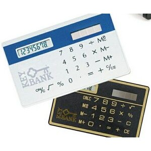 Credit Card Size Solar Calculator
