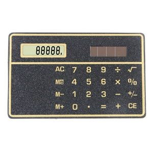 Credit Card Size Solar Powered Calculator
