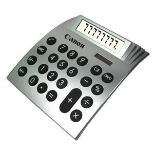Large Dual Powered Desktop Calculator