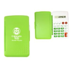8 Function Pocket Sized Calculator With Cover