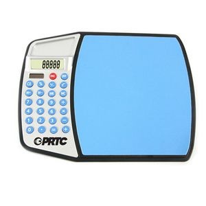 Computer Mouse Pad w/ Calculator-BLUE