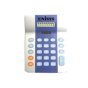 Eight Digit Two Tone Handheld/ Desktop Calculator