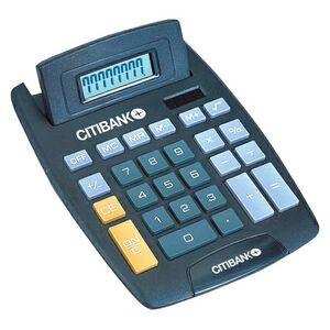 Black 8 Digit Desk Top Calculator