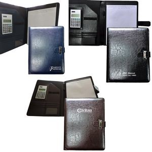 Deluxe Executive Portfolio with Tab Closure