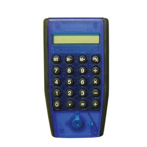 Calculator - Translucent Blue/Black