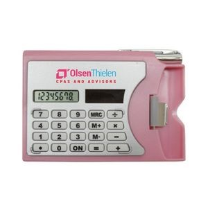 Calculator W/Card Holder (Full Color Process)