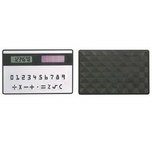 Credit Card Sized Solar Calculator