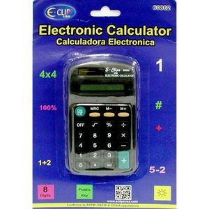 Calculator - 8 Digit - Solar powered (Case of 36)